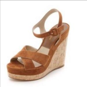 Michael Kors Collection Cate Wedges- Size 8 / 38.5